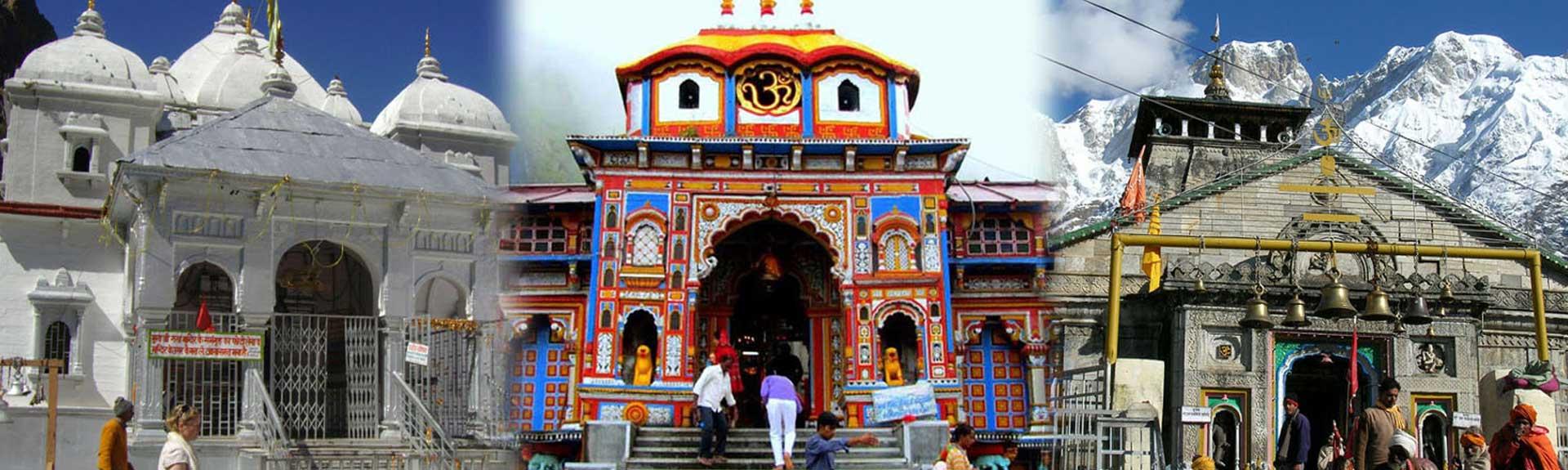 chardham yatra car rental from haridwar