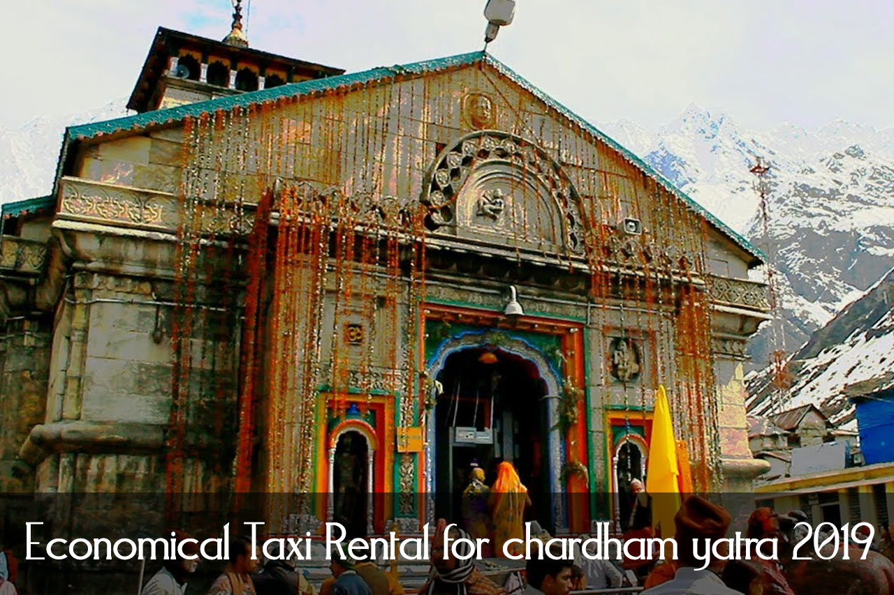 Cheap Taxi Rental for Chardham Yatra