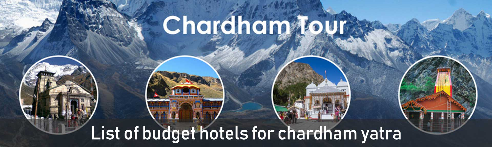 List of budget hotels for chardham yatra