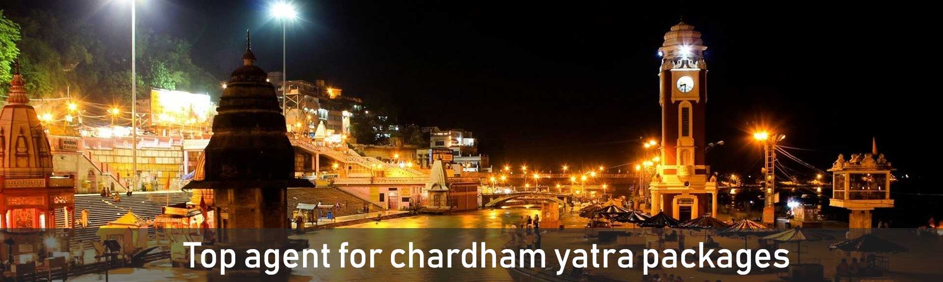 Top agent for chardham yatra packages