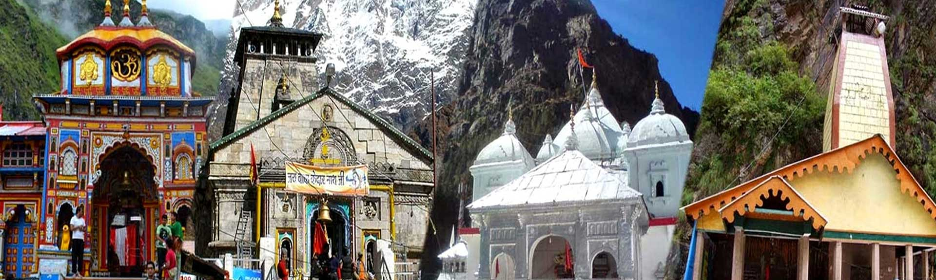 Char Dham Yatra Helicopter Package from Haridwar and Delhi