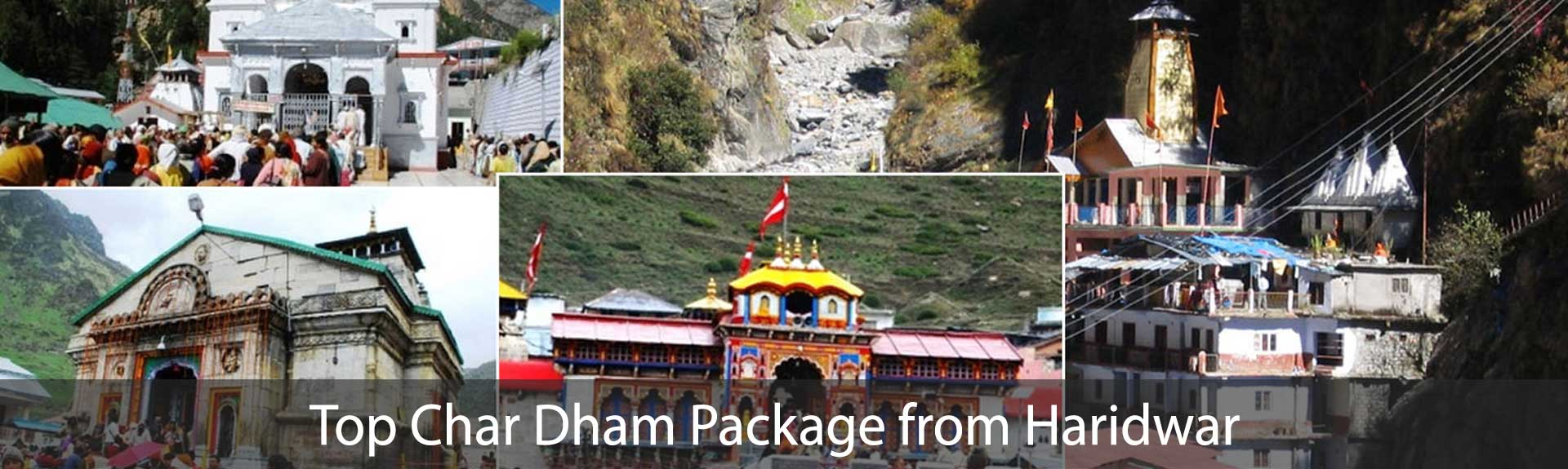 Top Char Dham Package from Haridwar