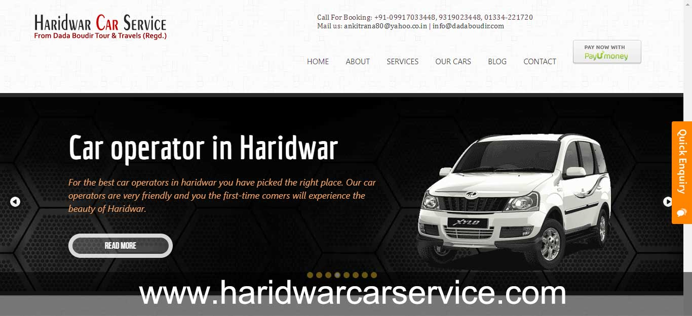 Haridwar Car serivce