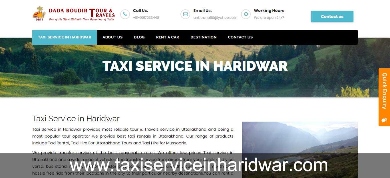 Taxi Service in Haridwar