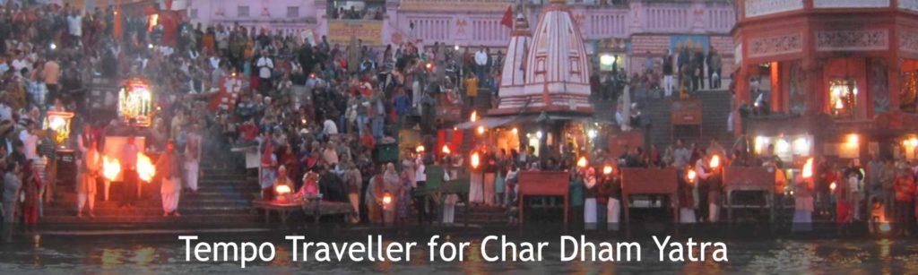 Tempo Traveller for Chardham Yatra